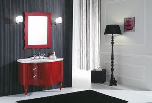 DEC� D01, Lacquered vanity unit with drawers