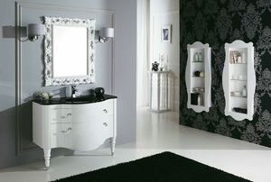 DEC� D02, Lacquered vanity unit with drawers