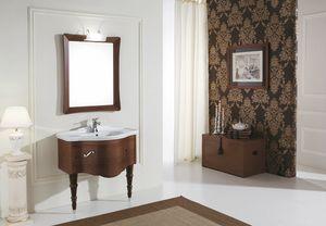 DEC� D10, Walnut bathroom cabinet
