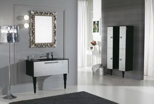 DEC� D11, Lacquered vanity unit with drawers