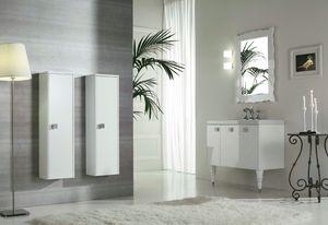 DEC� D12, Lacquered vanity unit with doors