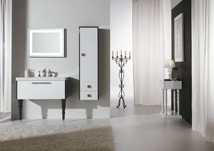 DEC� D14, Lacquered vanity unit with drawers