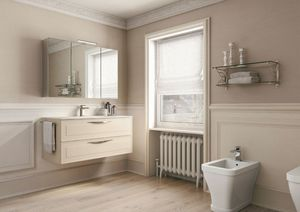 Dressy comp.09, Traditional style bathroom cabinet
