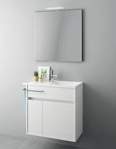 Duetto comp.18, Space-saving furniture for small bathrooms