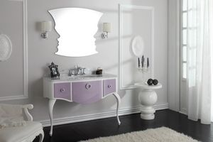 GLAM 01, Bathroom cabinet with drawers