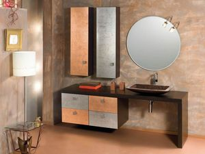 Glamour Rame AM58, Bathroom cabinet with fine finish