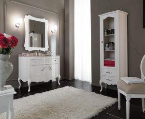 NARCISO 04, Lacquered washbasin cabinet