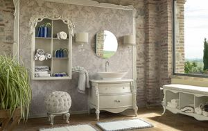 Olga bathroom cabinet, Classic style bathroom furniture