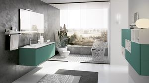 SWING SW-09, Bathroom furniture composition
