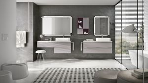 SWING SW-17, Complete modular furniture for bathroom