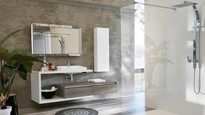 SWING SW-26, Modern furnishing composition for bathroom