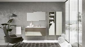 TEKNO TK-05, Complete modern bathroom furniture