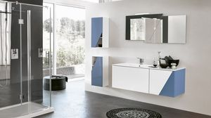 TEKNO TK-11, Complete bathroom furniture with two columns