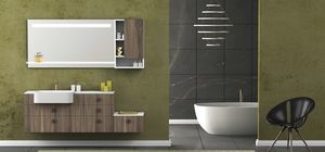 Torana TR 030, Bathroom cabinet with integrated sink