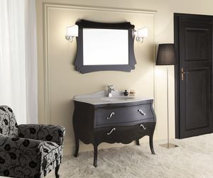 VANITY 02, Wooden washbasin cabinet with drawers