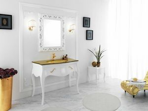 VANITY 06, Wooden washbasin cabinet