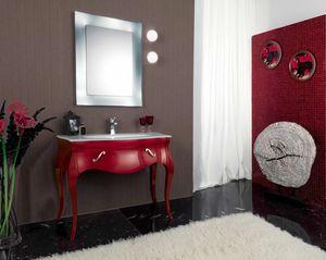 VANITY 07, Wooden washbasin cabinet