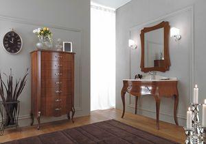 VANITY 08, Wooden washbasin cabinet