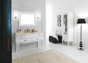 VOGUE 03, Wooden washbasin cabinet