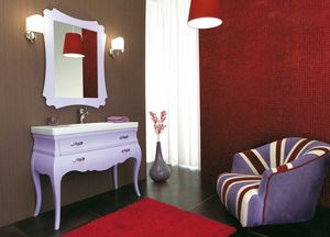 VOGUE 06, Washbasin cabinet with drawers