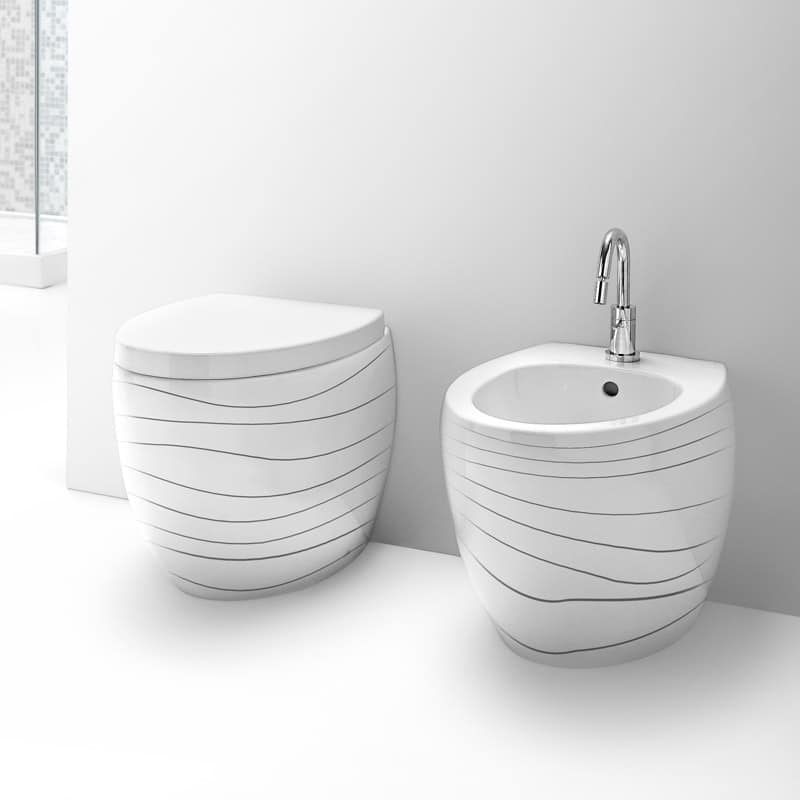 Sanitary Ware In Ceramic Various Finishing Available Idfdesign