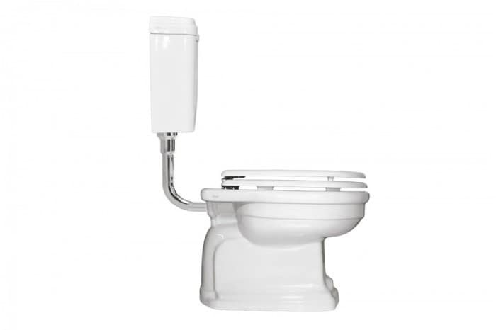 Wc With Low Level Cistern Seat Cover And Bidet Idfdesign