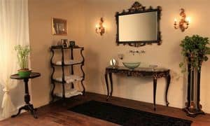 Art. 901-SH Clara, Bathroom furniture, made of beech wood, marble top