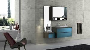 Torana TR 005, Bathroom furniture with sink, modular and simple