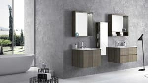 Torana TR 006, Bathroom furniture, designed in linear style