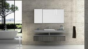 Torana TR 002, Bath composition with concrete finishing