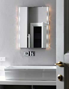 Floot E341, Mirror with LED lights