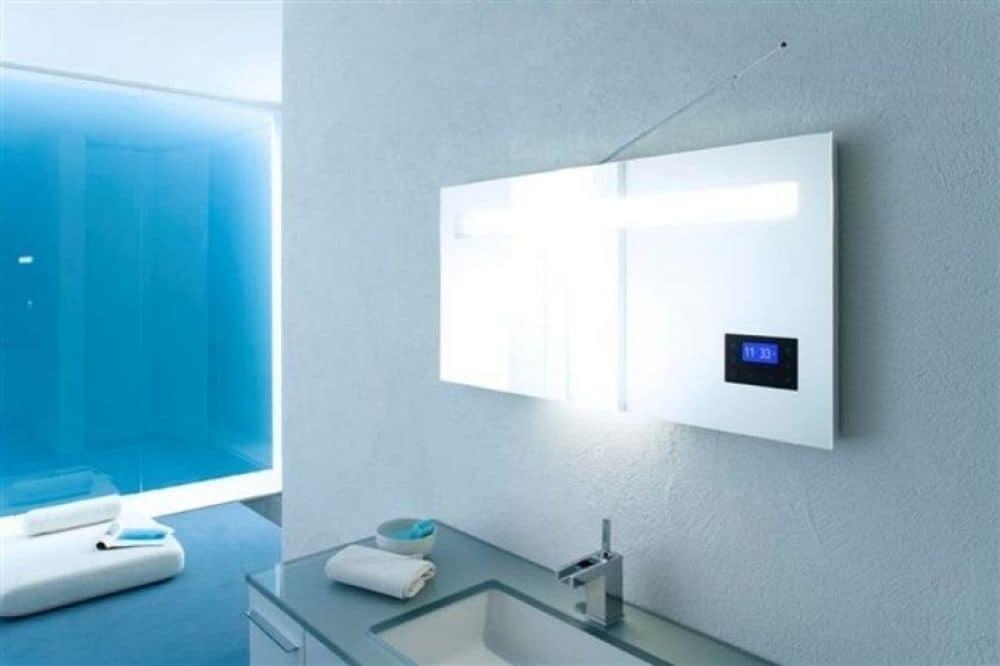 mirror with built in radio idfdesign rh idfdesign com Bathroom Mirror Built in Push Built with Mirrors in Bathrooms