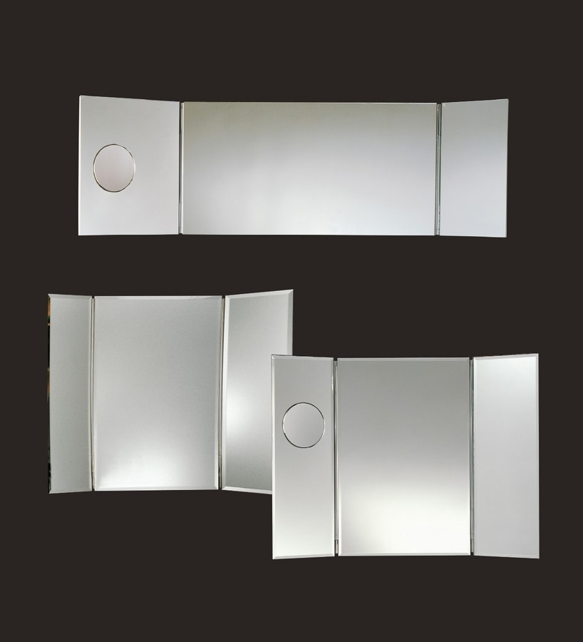 Tris E180, Illuminated mirror with magnifying mirror