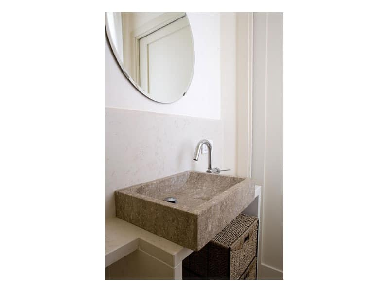 You collection, Rectangular stone washbasin, made to measure