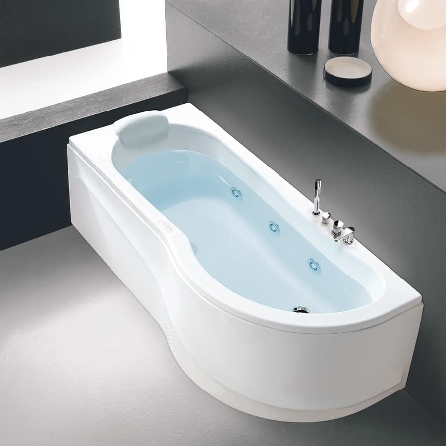 Corner spa bath with disinfection | IDFdesign