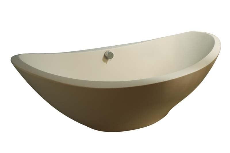 Free-standing bathtub, in resin titanic   IDFdesign