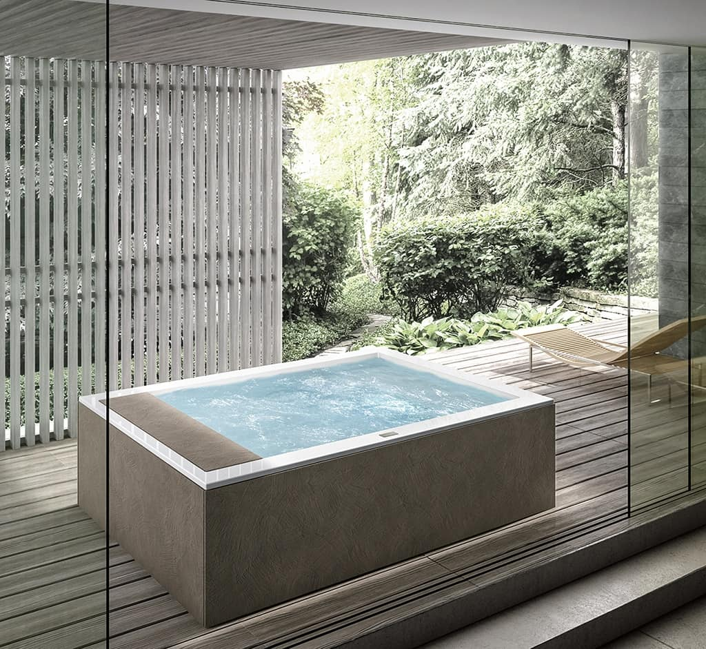 Jacuzzi for outdoors   IDFdesign