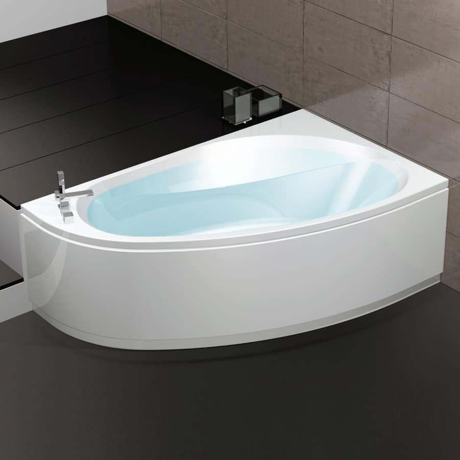 Bathtub with air regulation 6 whirlpool jets idfdesign - Vasca bagno dimensioni ...