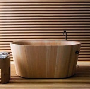 Ofur�, Wooden bathtub in Japanese style
