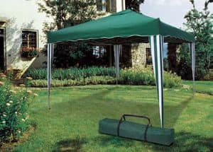 folding garden gazebo 3 x 3 Meters Market � GZ333POL, Square gazebo easy to reseal and transport