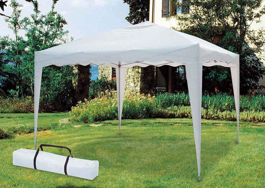 folding garden gazebo 3 x 3 Meters Market – GZ333POL, Square gazebo easy to reseal and transport