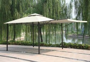 Gazebo 3.3 x 3.3 meters market bar Antigua � AN330POL, Spare cover for gazebo, easy to assemble