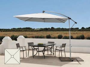 Aluminum garden umbrella decentralized arm Garden – GA303UVA, Waterproof umbrella, with UV protection