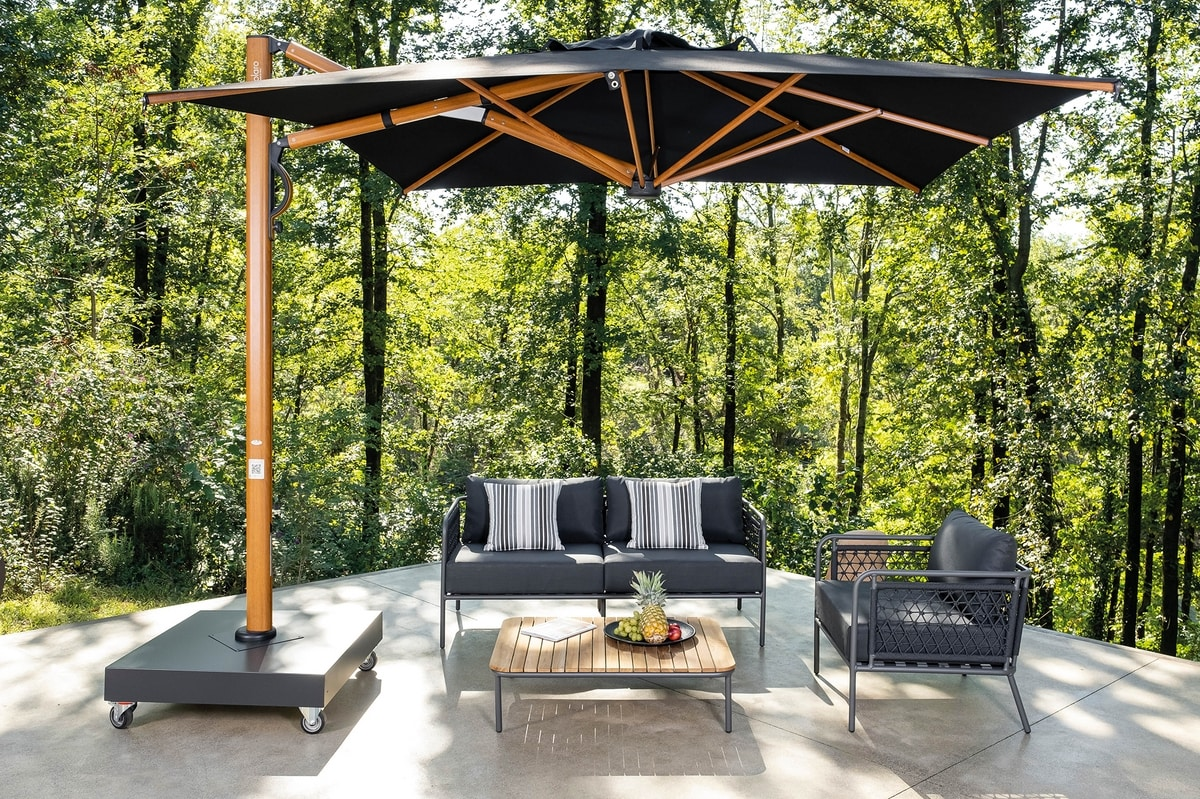 Astro Timber, Retractable umbrella
