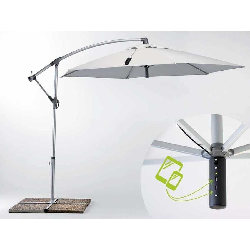 Parasol garden Usb – GA300USB, Parasol with battery charger with USB