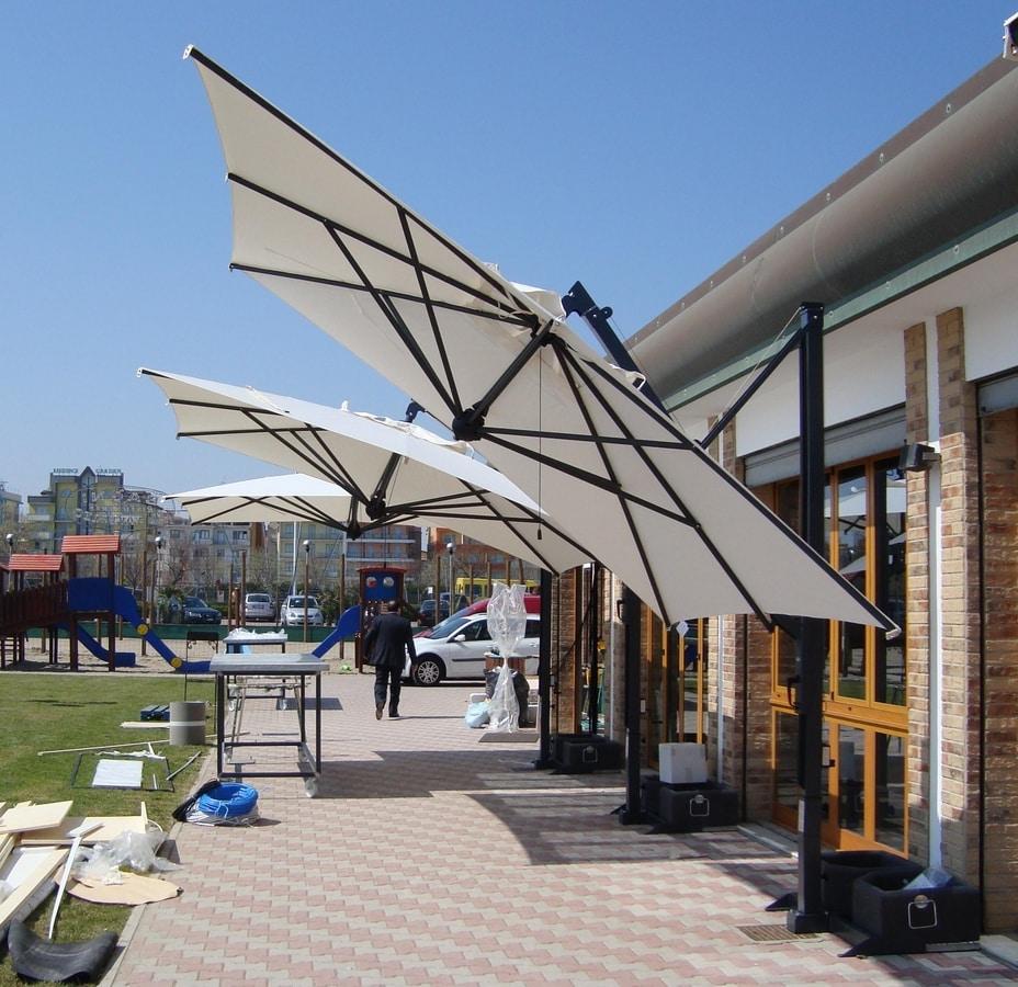 Galileo retractable, Sun umbrella with retractable locking system