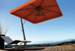 Napoli arm, Sun umbrella for gardens, with aluminum structure