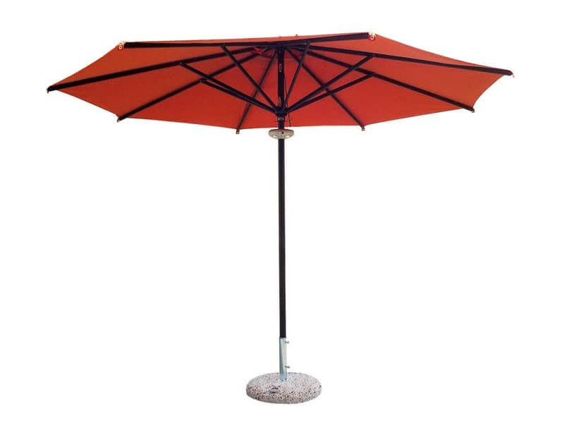Napoli standard 2, Sun umbrella with round shape, lightweight and elegant
