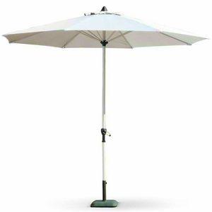 Parasol garden bar 3 meters aluminum octagonal central pole EDEN - ED300UVA, Octagonal parasol with aluminum structure