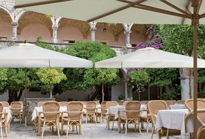 Palladio telescopic, Sun umbrella with telescopic closure